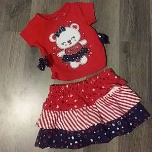 Other - 2 pc. Infant girl matching set